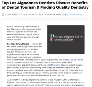 Top dentists in Los Algodones, Mexico talk about dental tourism, choosing a dentist, and finding great treatment pricing.
